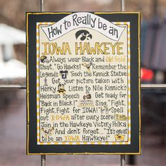 How to Really be an Iowa Hawkeye