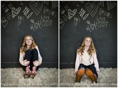 Salt Lake City Utah teen photographer captures 7th grade girl at her photo session in Carrie