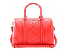"Sac Cuir Rouge ""Lucrezia"" de Givenchy #Givenchy #Bag"