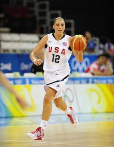 Diana Taurasi named to third U.S. Olympic women's basketball team.
