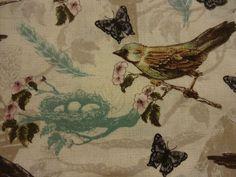 "Stunning ""PEN & INK BIRDS"" Handmade Cotton Pillowcase Standard/Queen #KristyGoggio #Nature"