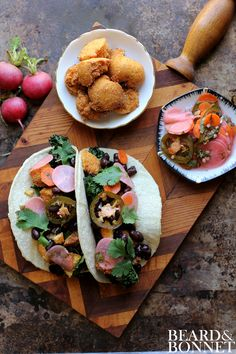 Hush Puppy Tacos {Beard and Bonnet} #glutenfree