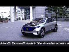 Mercedes EQ REVIEW DRIVING Mercedes Electric Car 2017 New Mercedes Conce...