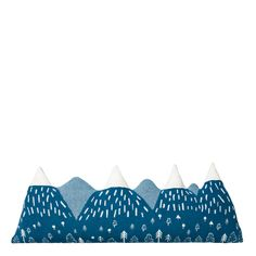 Mountain Peak Bolster Cushion - Donna Wilson Knitted Cushions, Bolster Cushions, Kids Pillows, Living Room Pillows, About Uk, Cushion Covers, This Is Us, Kids Rugs, Sofa