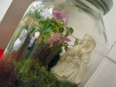 Make a Mini-Mary Garden with Kids