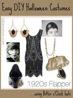 diy+1920s+costume | Easy DIY Halloween Costumes: 1920s Flapper « Bitter o'Clock