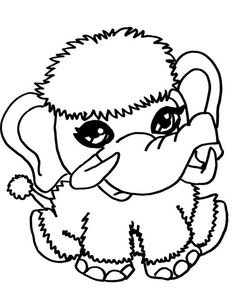 Cute Monster Coloring Pages - Max Coloring