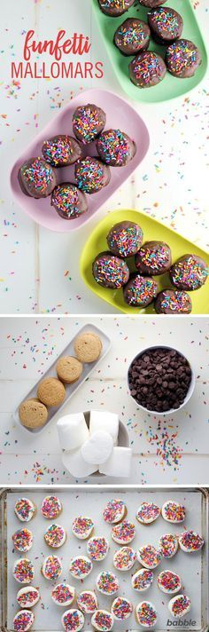 One favorite Gilmore Girls treat would definitely be Mallomars! This iconic cookie — graham cracker base, marshmallow filling, and chocolate coating — was Rory's gift to Lorelai on her birthday. Add a birthday twist by adding sprinkles to create Funfetti Mallomars and you'll be eating just like everyone's favorite mother-daughter duo.