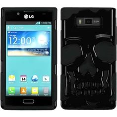 Insten Phone Case Cover for LG US730/ Splendor/ Venice/ L86c/ Optimus Snowtime, #1337802