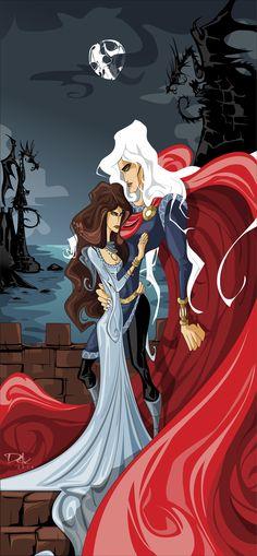 Lyanna and Rhaegar by ~dejan-delic on deviantART
