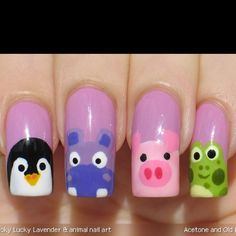 these nails are good for the Beging of Spring when almost all the animals come out of hibernation :)