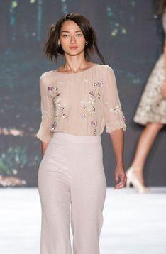 Badgley Mischka S2013 - embroidered elegance