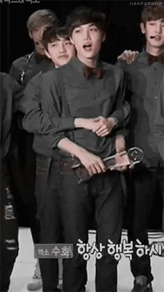 I'll ship them forever.. Right now I want to hug every Kaisoo shipper..