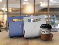 コーヒー豆のパッケージと言えば、クラフト紙でできた袋や、アルミなどの多層フィルム型が一般的ですが、見た目の%2