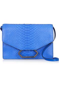 Victoria Beckham Money python shoulder bag NET-A-PORTER.COM