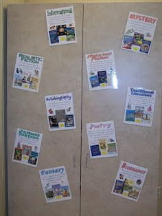 free genre posters from Troy School District