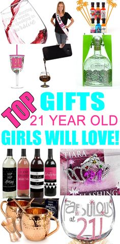 Top birthday gift ideas for girls. Great ideas for best friends, for daught. Top birthday gift ideas for girls. Great ideas for best friends, for daughter, for sister, for 21st Birthday Gifts For Best Friends, Birthday Gifts For Bestfriends, 21st Birthday Presents, Presents For Best Friends, 21st Gifts, Best Friend Gifts, Diy Gifts, Diy Birthday, Birthday Cakes