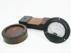Vintage gauge and wooden molds by ohiopicker on Etsy, $38.00