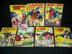 Comic europero-Lote de comics de  EL GUERRERO DEL ANTIFAZ -7 numeros especiales