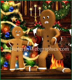 One more for the road--a gingerbread man who lost his leg.