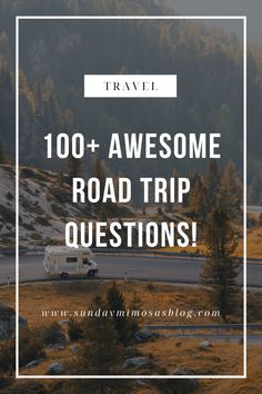 100+ Fun Road Trip Questions for Families, Friends or Couples! Amazing Life Hacks, Simple Life Hacks, Useful Life Hacks, Car Ride Questions, Fun Questions To Ask, 100 Fun, Embarrassing Moments, Family Road Trips, Florida Travel