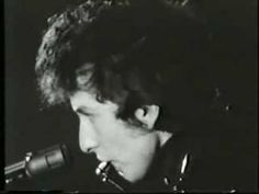 "Bob Dylan, ""Don't Think Twice, It's Alright,"" live '65 in UK."