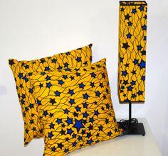 Lampa stołowa i poduszki dekoracyjne Nuta Afryki Cena zestaw: 499,99 PLN