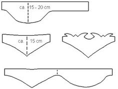 Primeiro escolhe-se o formato do cinto. Existem dois modelos de padrão preferidos: o egípcio de forma estreita em frente, mais amplo nas cos...