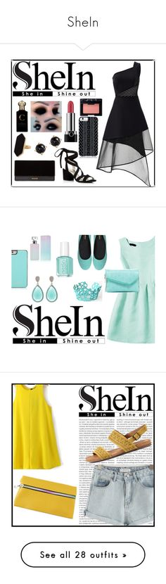 """""""SheIn"""" by emmy-124fashions ❤ liked on Polyvore featuring David Koma, Kenneth Cole, Balmain, Savannah Hayes, Jaeger, Irene Neuwirth, Clive Christian, Marc Jacobs, NARS Cosmetics and shein"""