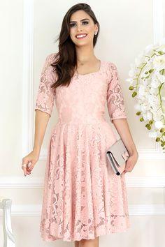 2835c3ab4544 Vestido Carolina Moda Evangélica Gisele Santana - Vestido da marca Gisele  Santana, Confeccionada em tecido