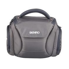 Benro RangerS10 Nylon Waterproof Camera Shoulder Bag. Specially Designed for DSLR SLR Camera For a custom fit and a full protection.  Camera Bag Organize one camera, one lens and other personal things.  Water-proof Nylon Material Built-in a rain cover ensures reliable protection.  Padded Shoulder Strap Carry the bag for long-lasting comfort.  Compact Design Provides plenty of storage space and ideals for outdoor photography.