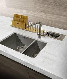 Manhattan accessoire modules voor werkblad - Product in beeld - Startpagina voor keuken ideeën | UW-keuken.nl