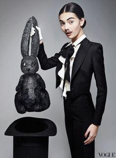 Vogue Russia December 2012 #fashion #editorial