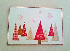 Papiernictvo - pozdrav vianočné stromčeky - 5990681_
