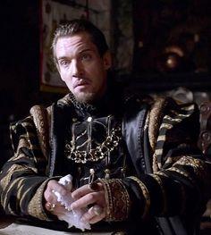 JRM as King Henry VIII, The Tudors