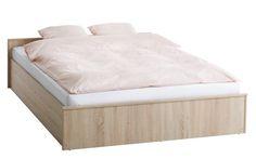 Ágykeret GENTOFTE 160x200cm tölgy | JYSK