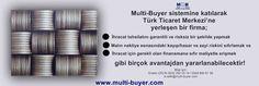 Multi-Buyer tarafından işletilmekte olan Turkish Trade Center'in temel amacı, «kazan-kazan» formülü ile, ihracat sıkıntısı içinde olan Türk KOBİ'lerini Almanya gibi alt yapısı sağlam bir ülke üzerinden ihracata açmak ve KOBİ'lerimiz için tabir yerinde ise «ihracatta yol arkadaşı» olmaktır. Bilgi için: Erdem ÇELİK 0532 392 03 14 / 0544 890 61 56  e.celik@multi-buyer.com www.multi-buyer.com