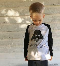 """Dark Zader"" Star Wars t-shirt sewn by Skirt Fixation"