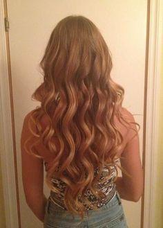 gorgeous long waves/loose curls / wedding hair