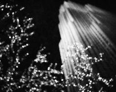 Christmas at Rockefeller Photograph, New York City Decor, Christmas Art. White Christmas Background, Black And White Background, Black Christmas, Christmas Art, Photography Essentials, City Photography, Nature Photography, Black And White City, Black And White Aesthetic