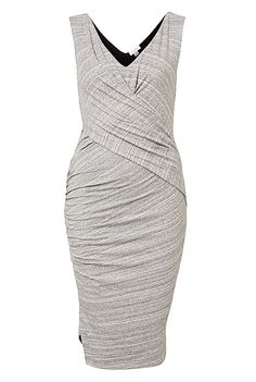 Witchery Ruched Split Dress