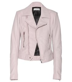 Balenciaga Leather Biker Jacket   MYTHERESA USA saved by #ShoppingIS