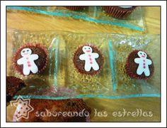 Magdalenas hechas con cacao soluble y una decoración muy especial
