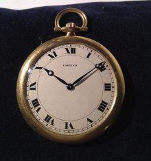 Cartier Gold Pocket Watch