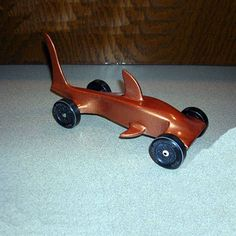 Bet Nate'd LOVE this for this year's Pinewood derby! (so long as we did most of the cutting/sanding/WORK lol)