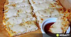 Mozzarellás karfiol-lepénykenyér | NOSALTY