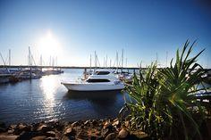 Bundaberg Port Marina  www.parkmyvan.com.au #ParkMyVan #Australia #Travel #RoadTrip #Backpacking #VanHire #CaravanHire