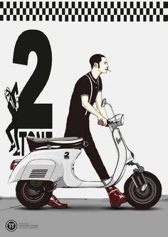 Find information about the world's most iconic scooter brand, Vespa, its latest model lineup, and dealer networks. Since Vespa has been an icon of Italian style loved around the world. Moto Scooter, Lambretta Scooter, Scooter Girl, Vespa Scooters, Vespa Smallframe, Ska Music, Brighton, Df Mexico, Rude Boy