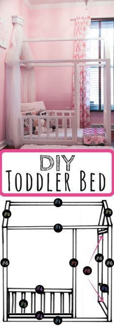 DIY Toddler Bed | Leggings 'N' Lattes