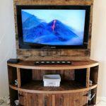 DIY Wood Pallet TV Stand Plan